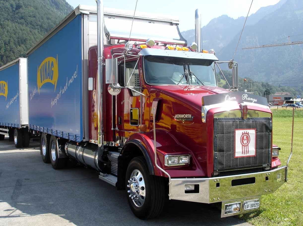 Kenworth t800 for Camion americain interieur